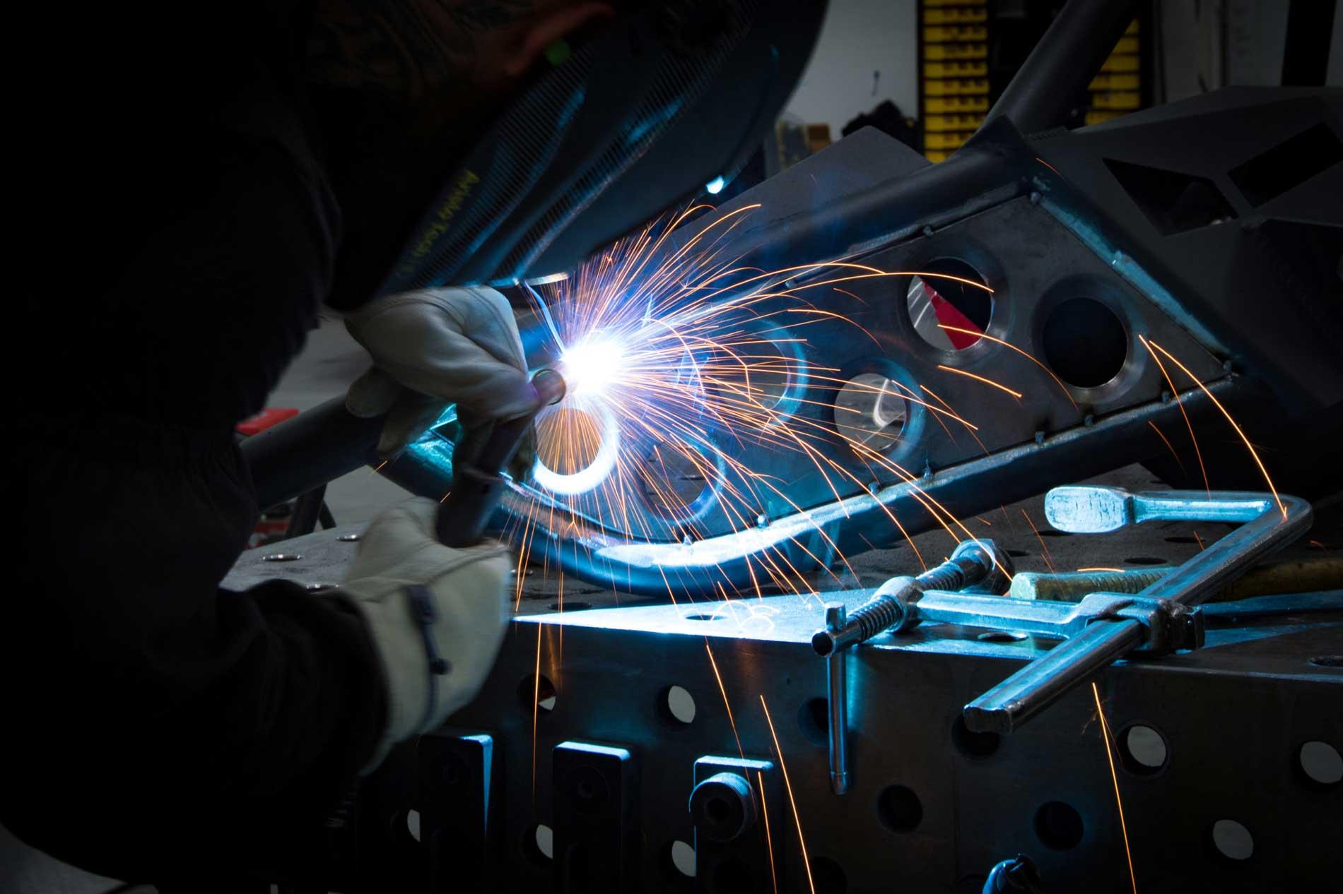 Sparks Motors Welding